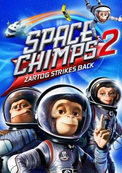 Space Chimps 2 Zartog Strikes Back,太空黑猩猩2[左右半宽3D](720P)