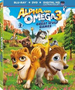 Alpha and Omega 3 The Great Wolf Games,丛林有情狼3:伟大的狼游戏(720P)