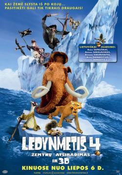 Ice Age Continental Drift 2012 3D,冰川时代4: 大陆漂移,冰河世纪4: 玩转新大陆[左右半宽3D](720P)