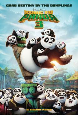 Kung Fu Panda 3,功夫熊猫3,熊猫阿宝3,阿宝正传3(蓝光原版)