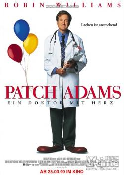 Patch Adams,心灵点滴,妙手情真,亚当医生(蓝光原版)