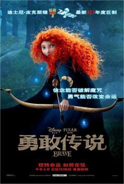 Brave,勇敢传说,勇敢的公主,勇敢传说之幻险森林[3D+2D版](蓝光原版)