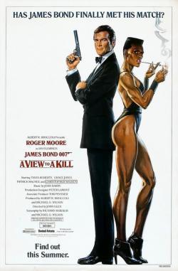 A View to a Kill,007系列之14: 雷霆杀机,铁金刚勇战大狂魔(蓝光原版)