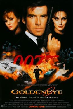 GoldenEye,007系列之17: 黄金眼,新铁金刚之金眼睛,黄金眼(蓝光原版)