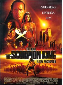 The Scorpion King,蝎子王,魔蝎大帝
