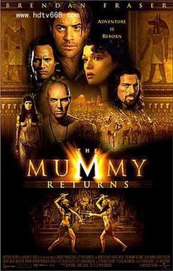 The Mummy Returns,木乃伊归来,盗墓迷城2,木乃伊归来:盗墓谜城(1080P)