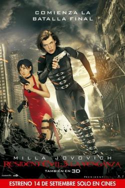 Resident Evil Retribution 2012 3D,生化危机5: 惩罚,生化危机5,生化危机之灭绝真相[3D+2D版](蓝光原版)
