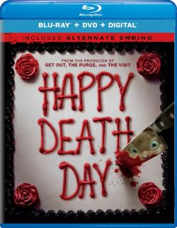 Happy Death Day,忌日快乐,死日快乐,吓到半死,死亡无限LOOP(蓝光原版)