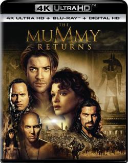 The Mummy Returns,[4K电影]木乃伊归来,盗墓迷城2,神鬼传奇2,木乃伊2[2160P](蓝光原版)