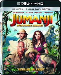 Jumanji: Welcome to the Jungle,勇敢者游戏:决战丛林,新勇敢者的游戏(蓝光原版)