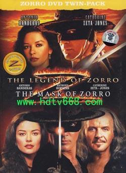 The Mask of Zorro,佐罗的面具,黑侠佐罗,蒙面侠佐罗(蓝光原版)