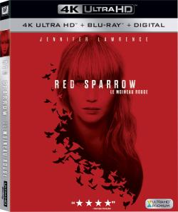 Red Sparrow,红雀,红雀特工,红色麻雀(蓝光原版)