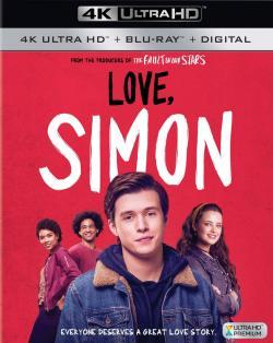 Love, Simon,爱你,西蒙,亲爱的初恋(台),抱抱我的初恋(蓝光原版)