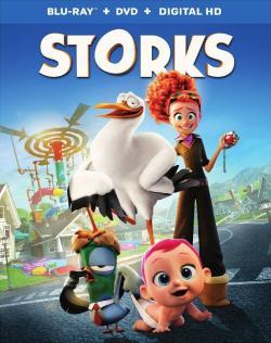 Storks,逗鸟外传:萌宝满天飞,送子鹤,鹳,送子鸟[3D版](蓝光原版)