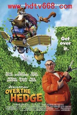 Over the Hedge,篱笆墙外,篱墙之战,飞跃篱笆,森林保卫战(1080P)