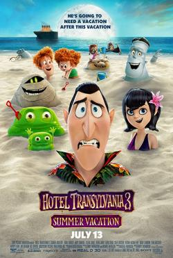 Hotel Transylvania 3: Summer Vacation,精灵旅社3:疯狂假期,鬼灵精怪大酒店3:怪兽旅行团(蓝光原版)