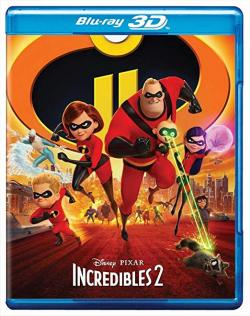 Incredibles 2,超人总动员2,超人家族2[3D版](蓝光原版)