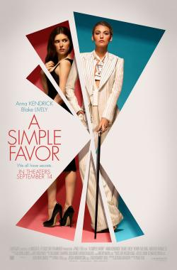 Simple Favor,一个小忙,简单帮个忙,举手之劳,失踪网红(蓝光原版)