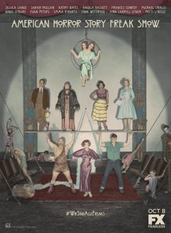 American Horror Story S04,美剧《美国恐怖故事: 畸形秀》第四季13集全集(1080P)