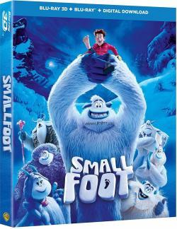 Smallfoot 3D,雪怪大冒险,大脚怪奇遇记,寻找小脚八[3D版](蓝光原版)