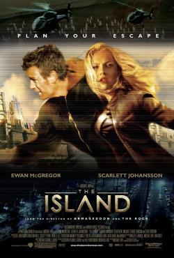 The Island,逃出克隆岛,绝地再生,谎岛叛变(蓝光原版)