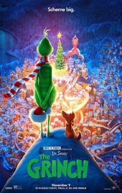 The Grinch,绿毛怪格林奇,圣诞怪怪杰,圣诞怪杰[全景声](蓝光原版)
