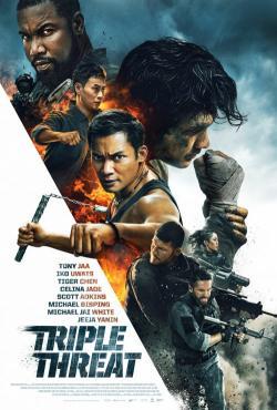 Triple Threat,三重威胁之跨国大营救,三重威胁(蓝光原版)
