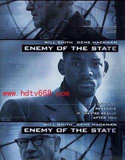 Enemy of the State,国家的敌人,全民公敌,高度反击(蓝光原版)