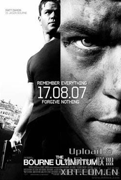 The Bourne Ultimatum,谍影重重3,波恩的最后通牒,神鬼认证:最后通牒角(1080P)