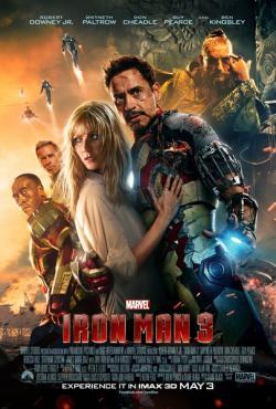 Iron Man 3,钢铁侠3,钢铁人3,铁甲奇侠3[3D版](蓝光原版)