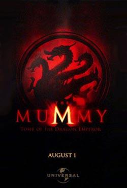 The Mummy: Tomb of the Dragon Emperor,木乃伊3:龙帝之墓,木乃伊3:龙的诅咒,神鬼传奇3,盗墓迷城3