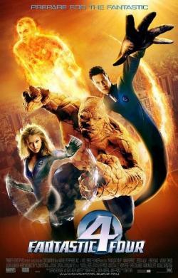 Fantastic Four,神奇四侠,F4超人,超人总动员,惊奇4超人(蓝光原版)