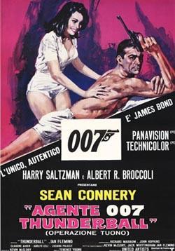 Thunderball,007系列4:霹雳弹,雷霆万钧,铁金刚勇战魔鬼党