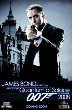Quantum of Solace,007系列之22:大破量子危机,007量子危机,新铁金刚之量子杀机(蓝光原版)