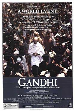 Gandhi,甘地传(台湾双碟版)(蓝光原版)