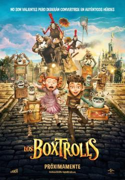 The Boxtrolls,盒子怪,拯救盒怪,怪诞小箱侠[左右半宽3D](720P)