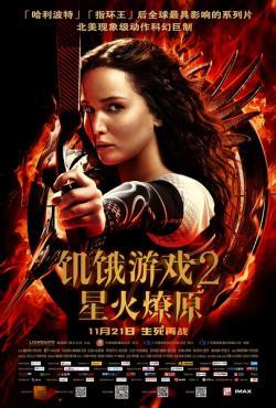 The Hunger Games Catching Fire,饥饿游戏2: 星火燎原,饥饿游戏: 燃烧的女孩(蓝光原版)