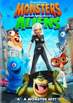 Monsters vs Aliens,大战外星人,怪兽大战外星人,天煞撞正怪怪兽,异形战魔怪(蓝光原版)