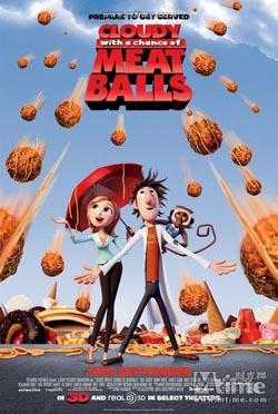 Cloudy With A Chance Of Meatballs,美食从天而降(蓝光原版)