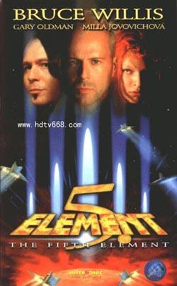 The Fifth Element,第五元素(蓝光原版)