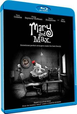 Mary And Max,玛丽和马克思(1080P)