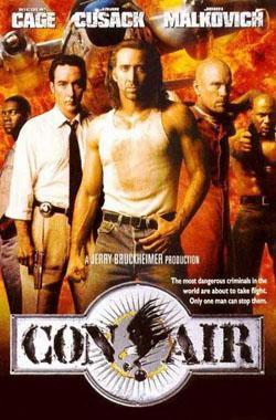 Con Air,空中监狱,惊天动地,罪犯的空中之旅,空中囚犯(蓝光原版)