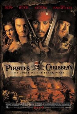 Pirates of the Caribbean-The Curse of the Black Pearl,加勒比海盗:黑珍珠号的诅咒,神鬼奇航:鬼盗船魔咒,魔盗王:决战鬼盗船(蓝光原版)