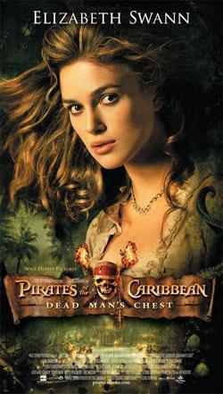 Pirates of the Caribbean- Dead Man is Chest,加勒比海盗:亡灵宝藏,神鬼奇航2:加勒比海盗,加勒比海盗:决战魔盗王(蓝光原版)