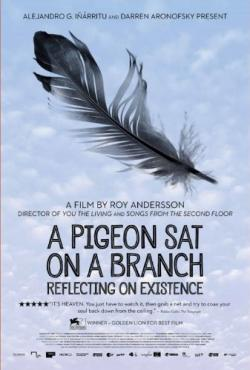 A Pigeon Sat on a Branch Reflecting on Existence,寒枝雀静,鸽子在树上反思存在意义(720P)
