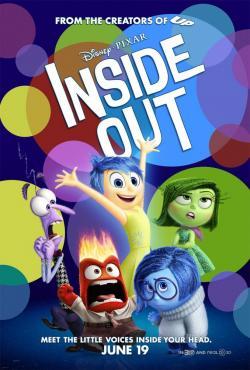 Inside Out,头脑特工队,玩转脑朋友,脑筋急转弯[3D版](蓝光原版)