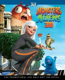 Monsters Vs Aliens,大战外星人[上下半宽3D ](720P)