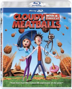 Cloudy with a Change of Meatballs 3D,美食从天而降[左右半宽3D](720P)