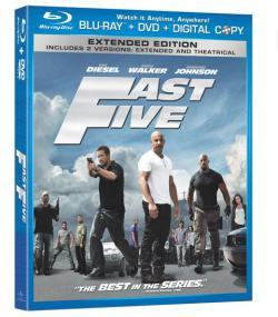 Fast Five,速度与激情5(蓝光原版)