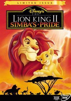 The Lion King 2 Simba Is Pride ,狮子王2:辛巴的荣耀(蓝光原版)